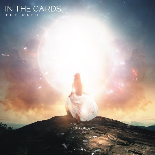 In The Cards The Path EP, Album Cover, Woman, Light, Rocks, Horizon