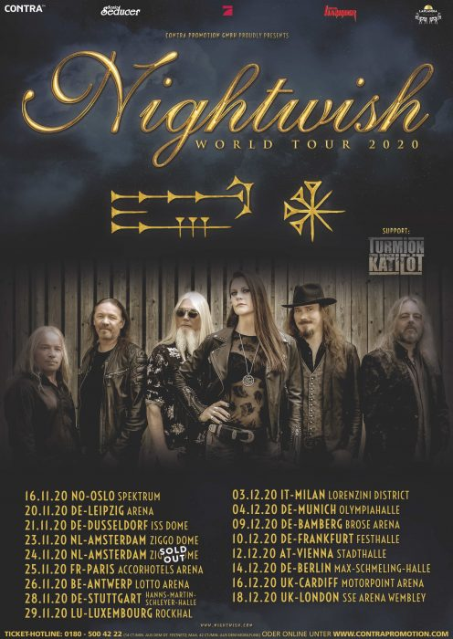 Nightwish - Decades World Tour