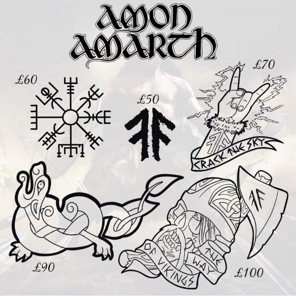 Amon Amarth tattoo 6