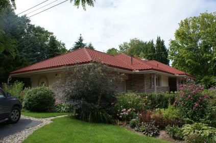 Terra Cotta tiles are common in warmer climates - for Ontario, you need a tile-look steel roof from Metal Roof Outlet to last through all Canadian seasons.