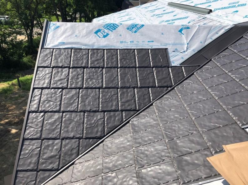Port Stanley metal roofing SLate Borel Steel Slate