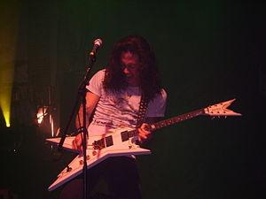 Matthew Heafy of US-american thrash metal band...