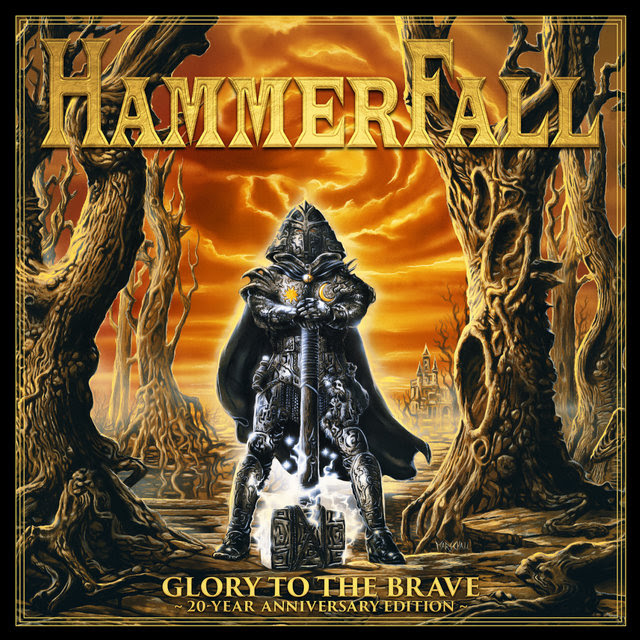 Resultado de imagen para Hammerfall - Glory To The Brave 20th Anniversary Edition: