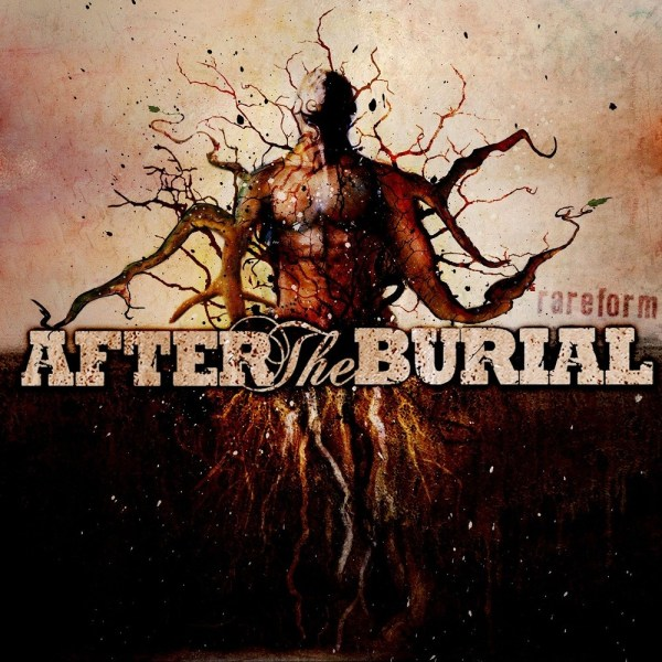 After The Burial - Rareform, Limited Orange vinyl with white splatter, 500 Copies (damaged cover, reduced price)