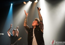 PapaRoach 6 - GALLERY: Papa Roach & Chelsea Rockwells Live At The Tivoli, Brisbane