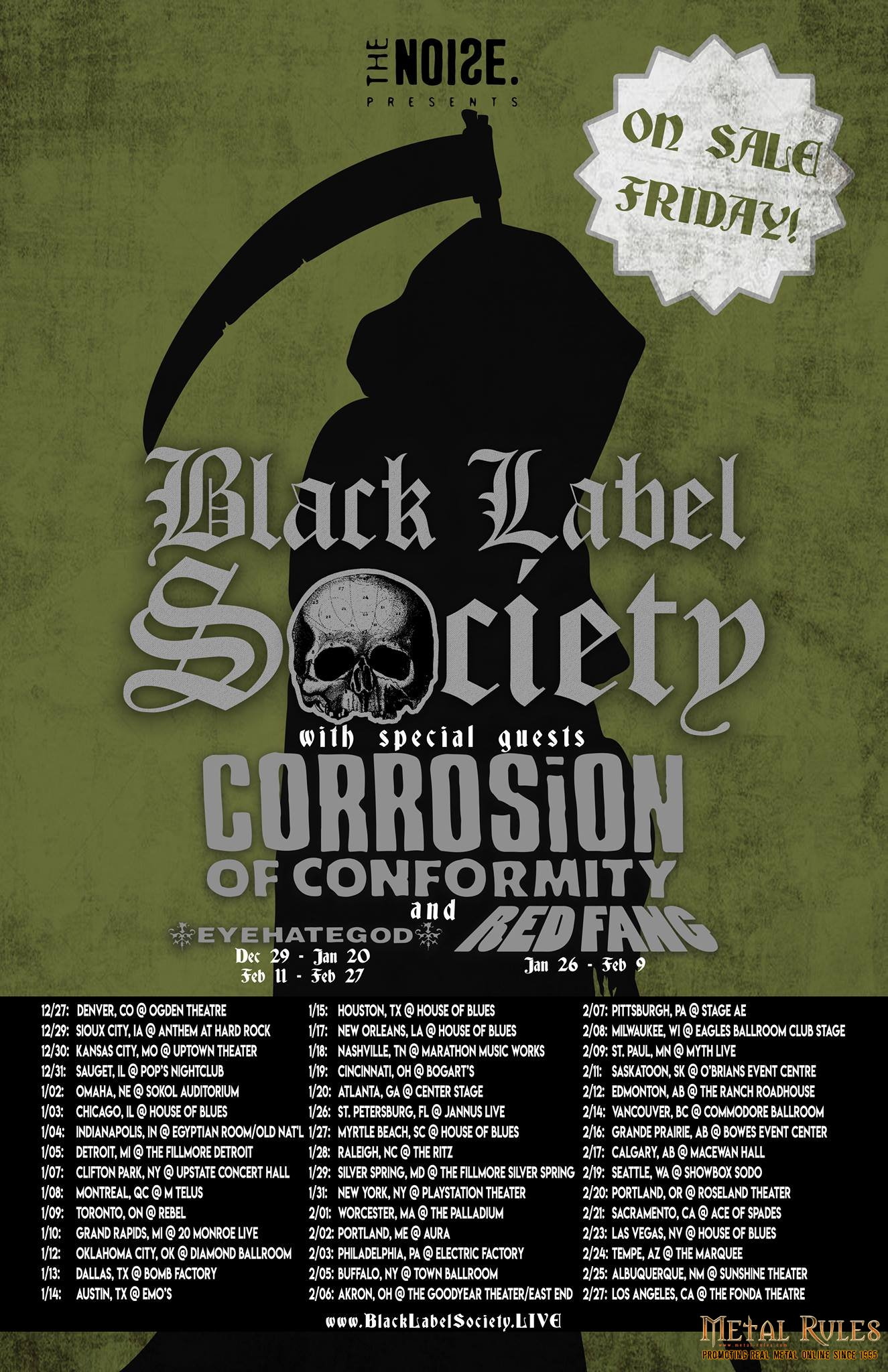 Gig Review Black Label Society Corrosion Of Conformity