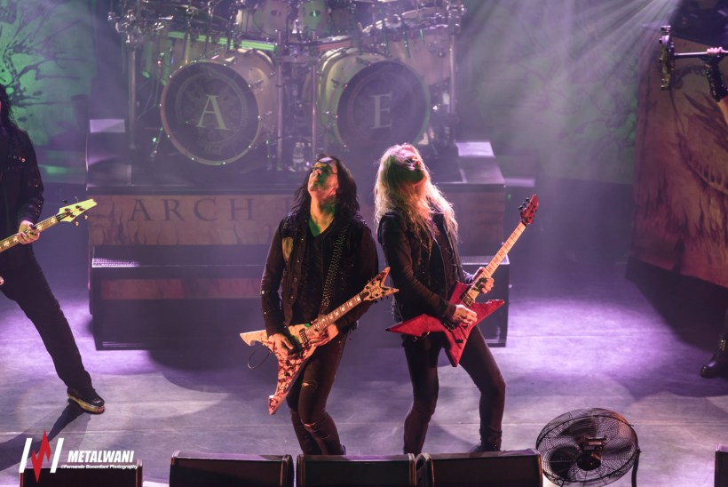 ARCH ENEMY 14 1024x684 - GIG REVIEW: Arch Enemy, Wintersun & Tribulation Live at Koko, London