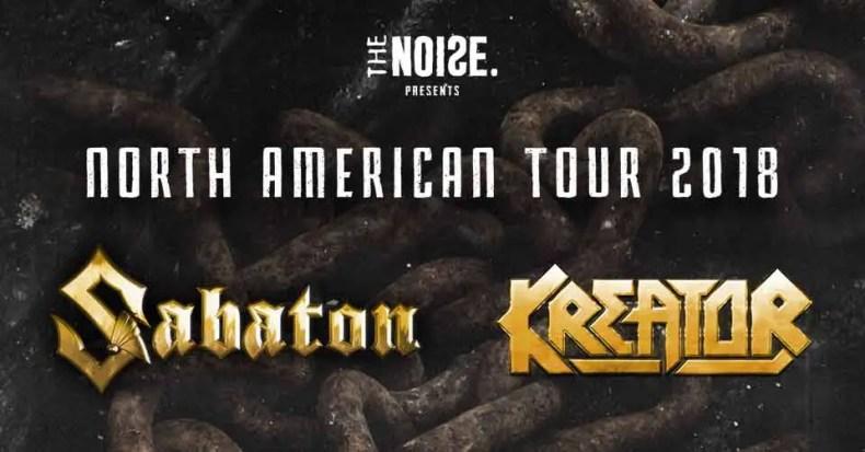 Sabaton US - GIG REVIEW: Sabaton, Kreator & Cyhra Live at The Palace, Calgary