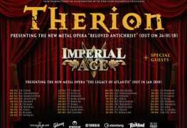 therion antichrist - GIG REVIEW: An Evening With THERION Live at The Corporation, Sheffield