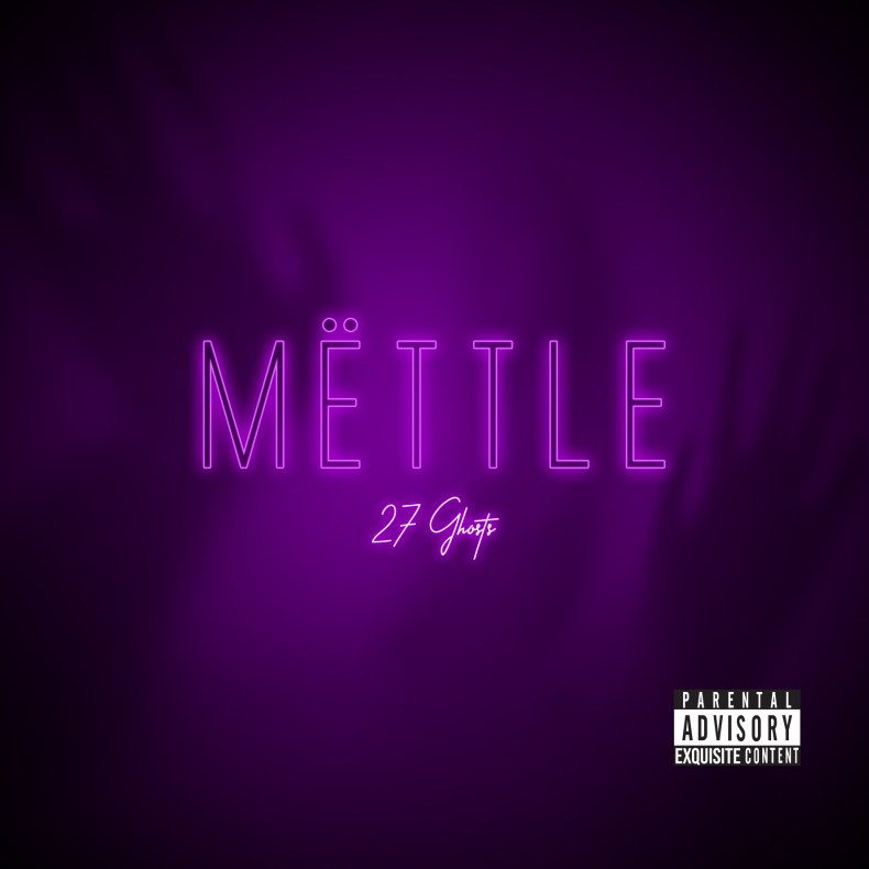 "CD COVER FRONT - REVIEW: MËTTLE - ""27 Ghosts"" [EP]"