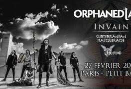 OrphanedLand - GIG REVIEW: Orphaned Land, In Vain, Subterranean Masquerade & Aevum Live at Petit Bain, Paris