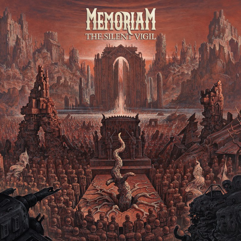 "memoriam the silent vigil - REVIEW: MEMORIAM - ""The Silent Vigil"""
