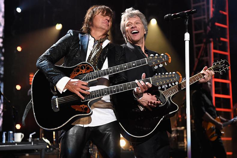 Bon Jovi - Watch BON JOVI Reunite With Richie Sambora At Rock And Roll Hall Of Fame