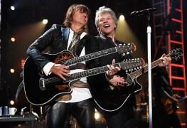 Bon Jovi - Watch BON JOVI Reunite With Richie Sambora At Rock And Roll Hall Of Fame