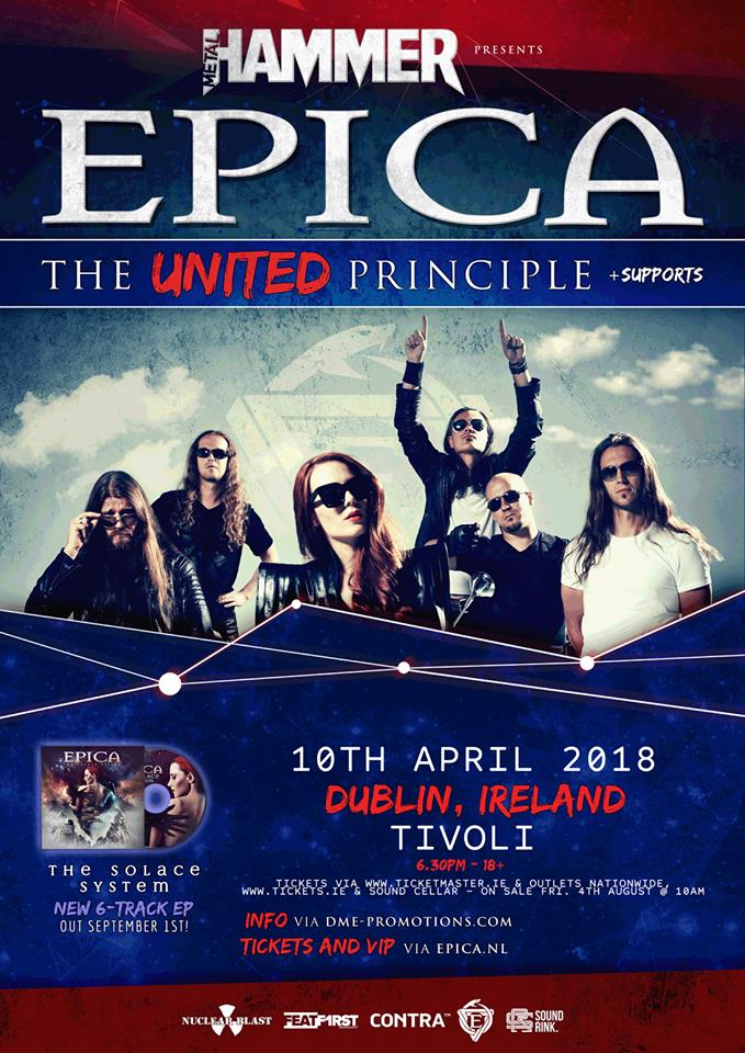 Epica Dublin - GIG REVIEW: Epica, Myrkur & Oceans Of Slumber Live at The Tivoli Theatre, Dublin