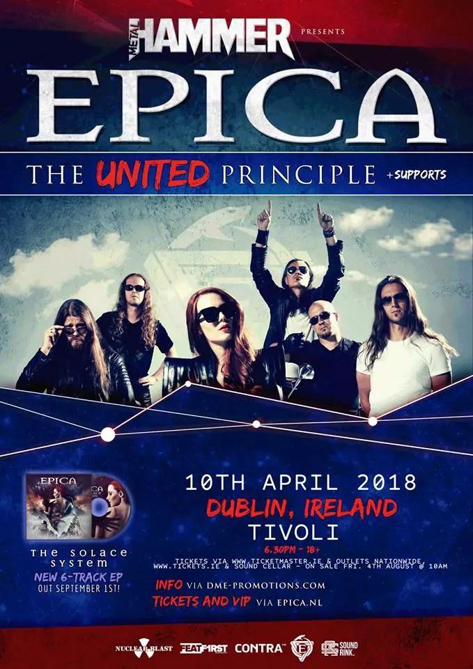 Epica Dublin - GIG REVIEW: Epica, Myrkur & Oceans Of Slumber Live at The Tivoli Theatre, Dublin