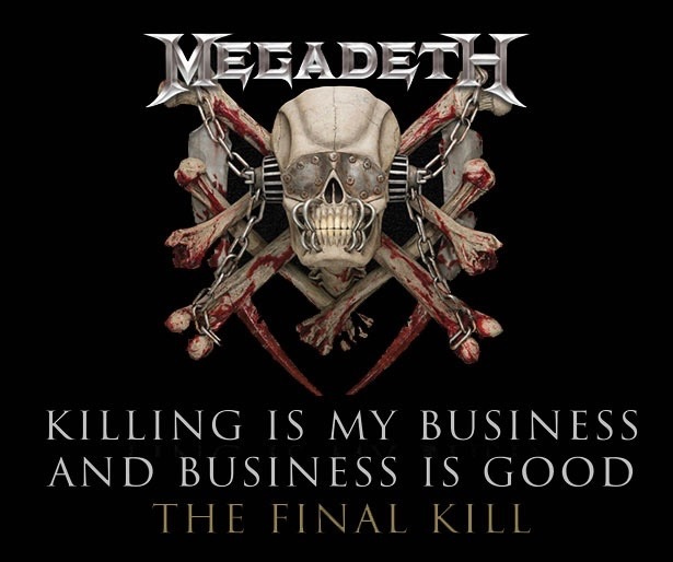 Killing - MEGADETH's 'Killing Is My Business... And Business Is Good!' To Be Reissued With Bonus Demo