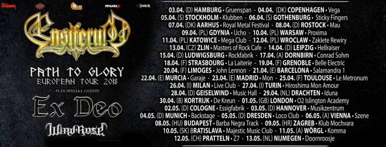Ensiferum 2018 - GIG REVIEW: Ensiferum & Ex-Deo Live at Musikzentrum, Hannover