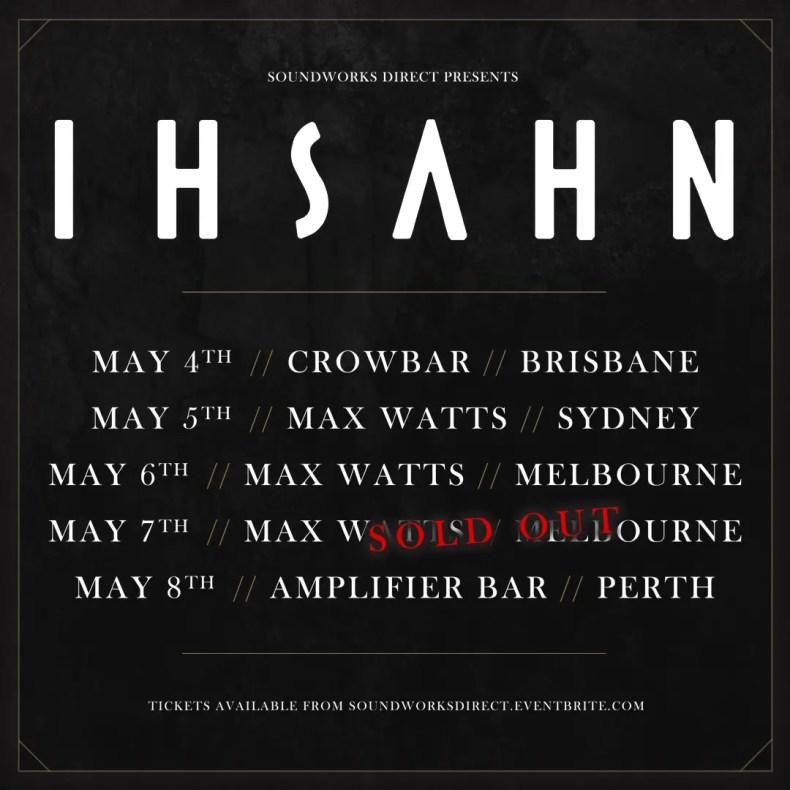 Ihsahn Aus - GIG REVIEW: Ihsahn, Hope Drone & Siberian Hell Sounds Live at Crowbar, Brisbane