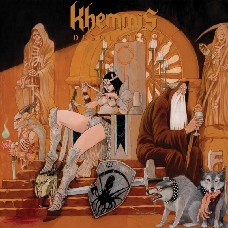 "Khemmis - REVIEW: KHEMMIS - ""Desolation"""