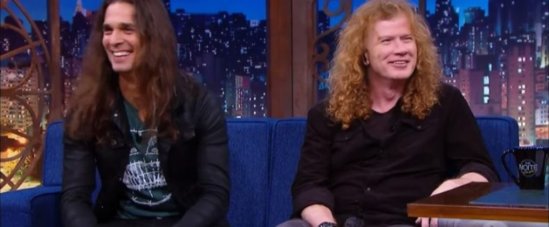 dave kiko - MEGADETH's Dave Mustaine Says Kiko Loureiro Is the Best Guitar Player He Played With So Far