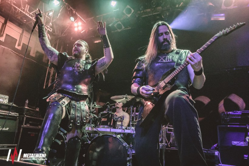 ex deo 20 - GIG REVIEW: Ensiferum & Ex-Deo Live at Musikzentrum, Hannover
