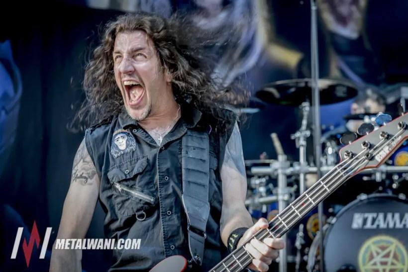 Anthrax 6 - GIG REVIEW: Slayer, Lamb Of God, Anthrax, Behemoth & Testament Live at Freedom Hill, Detroit, MI