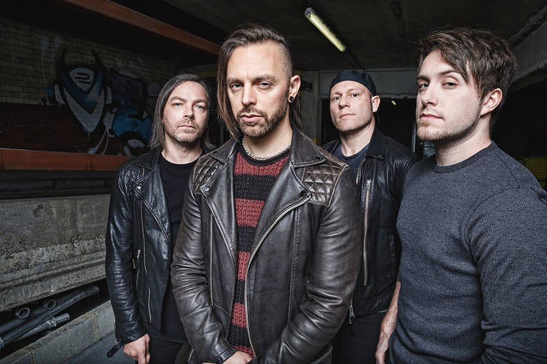 """BFMV 2018 - INTERVIEW: BULLET FOR MY VALENTINE's Padge & Jason on 'Gravity': """"We Are Dipping Our Toe Into A Completely Different Pond"""""""