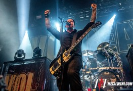 Volbeat 18 - GALLERY: An Evening With VOLBEAT Live at O2 Ritz, Manchester, UK