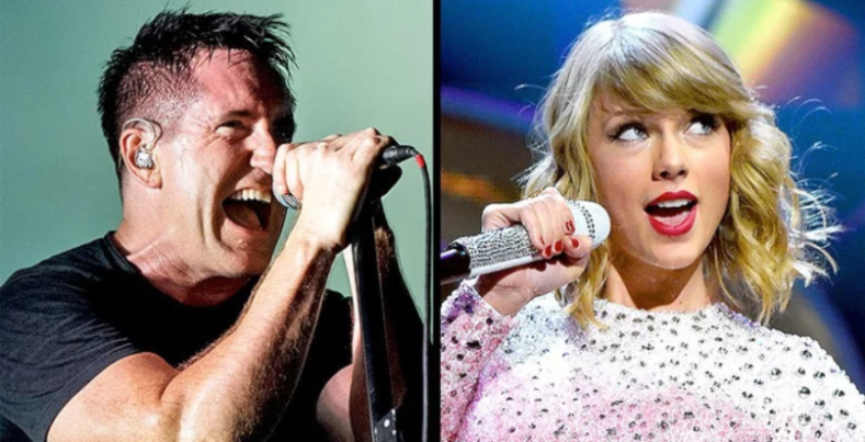 trent reznor and taylor swift - NIN's Trent Reznor Slams Bands For Not Expressing Their Political Opinions Publically