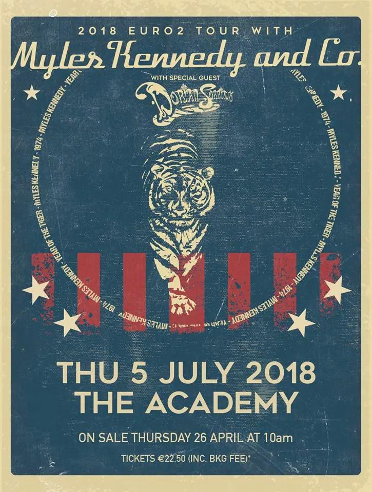 Myles Kennedy Dublin Academy - GIG REVIEW: An Evening With MYLES KENNEDY Live at The Academy, Dublin