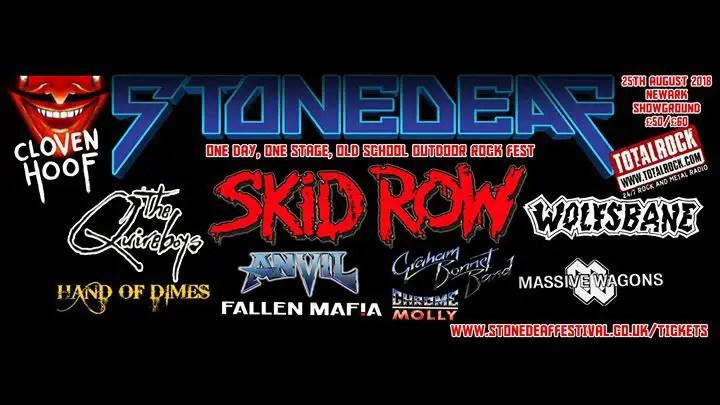Stonedeaf - FESTIVAL REVIEW: STONEDEAF FESTIVAL 2018 Live at Newark Showground, UK