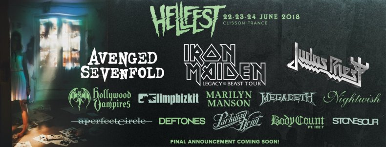 hellfest 2018 - FESTIVAL REVIEW: HELLFEST OPEN AIR 2018 at Clisson, France – Day 1 (Friday)