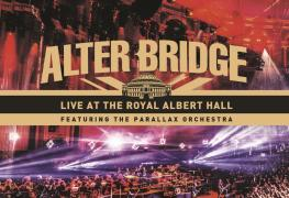 791 AlterBridge DVD CMYK - DVD REVIEW: ALTER BRIDGE Ft. The Parallax Orchestra Live at the Royal Albert Hall, London