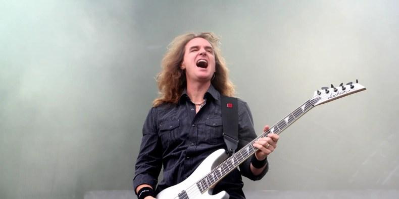 "David Ellefson - MEGADETH's David Ellefson Supports Digital Music: ""Vinyl Sounds Like Sh*t"""