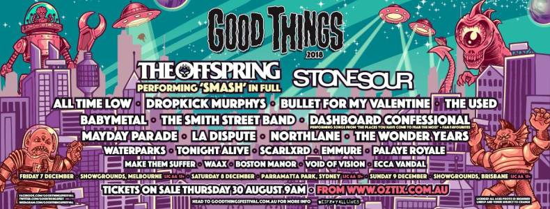 Good Things - FESTIVAL REPORT: Good Things Festival 2018 Announce Lineup For Debut Edition
