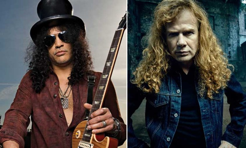 slash dave mustaine - MEGADETH Frontman Dave Mustaine Responds to SLASH's Call for Collaboration