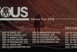 Leprous Live - GIG REVIEW: Leprous, Agent Fresco & 22 Live at Le Forum, Vaureal