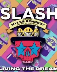 "Living Dream - REVIEW: SLASH FT. MYLES KENNEDY AND THE CONSPIRATORS - ""Living The Dream"""