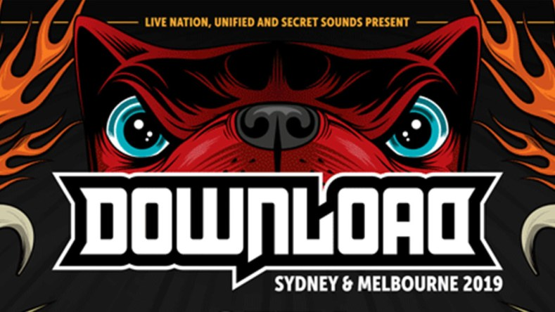 download australia banner - FESTIVAL REVIEW: DOWNLOAD FESTIVAL 2019 Live at Flemington Racecourse, Melbourne