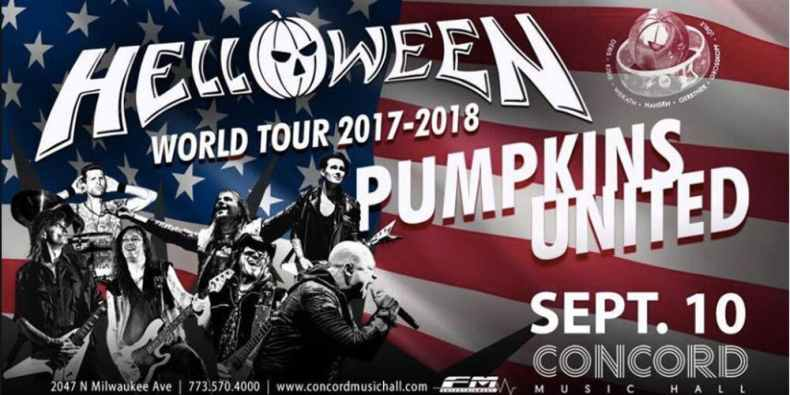 helloween Tour - GIG REVIEW: HELLOWEEN Pumpkins United Tour Live at Concord Music Hall, Chicago, IL