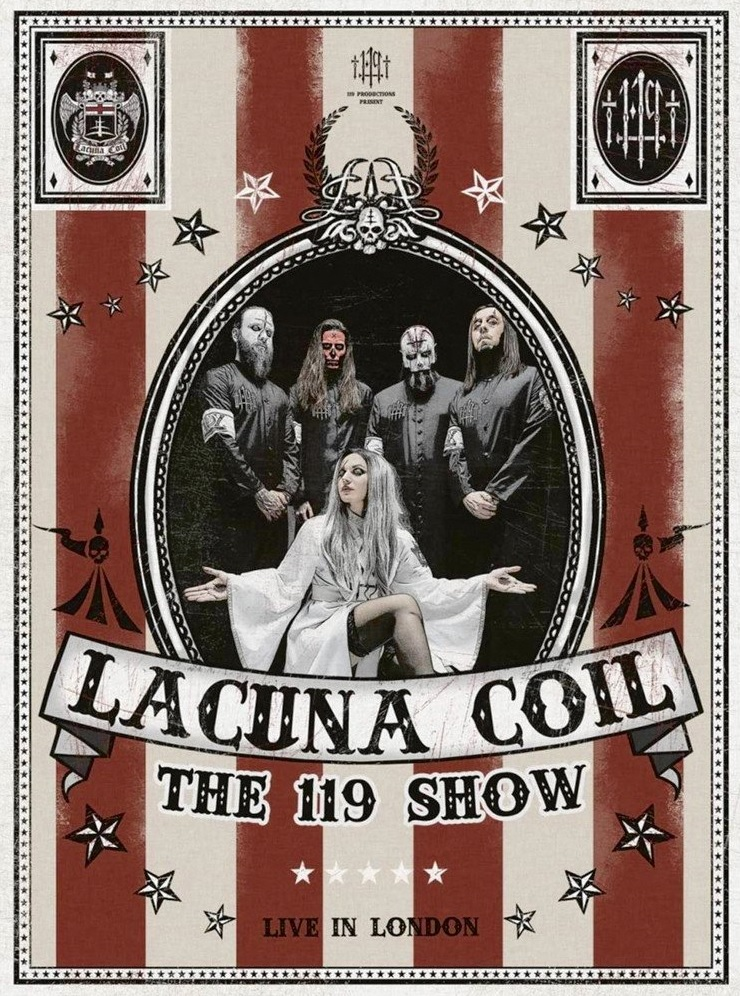 """119 Show - DVD REVIEW: LACUNA COIL - """"The 119 Show : Live In London DVD"""""""