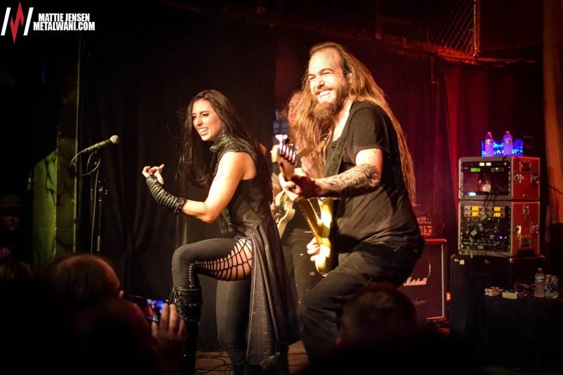 UnleashtheArchers 13 - GIG REVIEW: Unleash The Archers, Striker & Helion Prime Live at Reggie's, Chicago