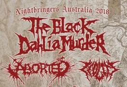 black dahlia - GIG REVIEW: The Black Dahlia Murder, Aborted, Disentomb & Zeolite Live at Crowbar, Brisbane
