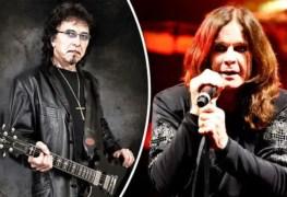 Tony Iommi Ozzy Osbourne - OZZY OSBOURNE Says It Wasn't Comfortable To Work With TONY IOMMI; Insists RANDY RHOADS Made Him A Better Singer