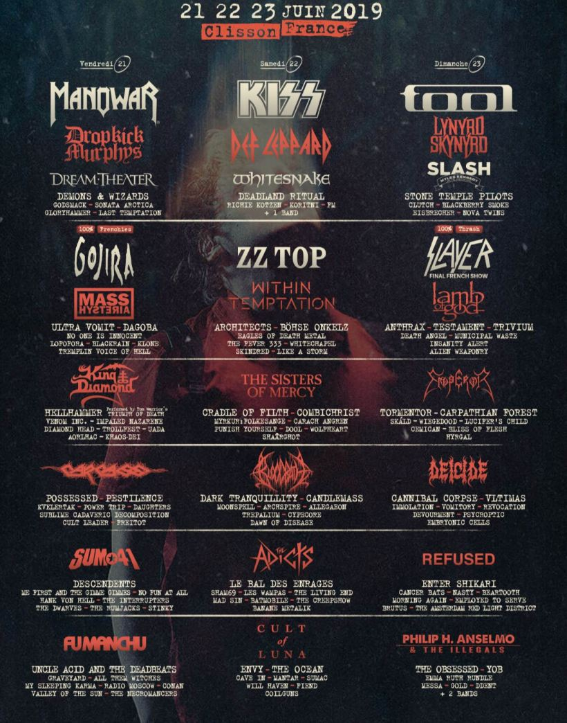 Hellfest 2019 Lineup - FESTIVAL REPORT: HELLFEST OPEN AIR Announce Epic Lineup For 2019 Edition