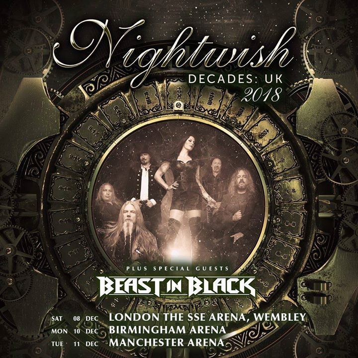 Nightwish London - GIG REVIEW: NIGHTWISH & BEAST IN BLACK Live at The SSE Areana, Wembley, London