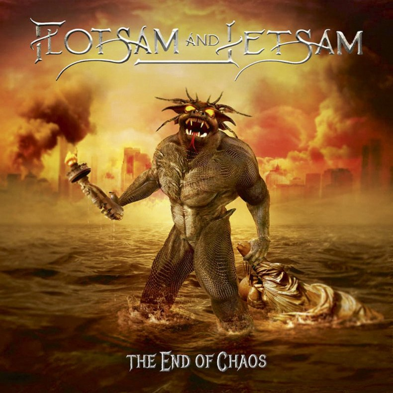 """End Of Chaos Cover - REVIEW: FLOTSAM & JETSAM - """"The End Of Chaos"""""""