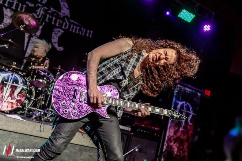 MartyFriedman 2 - GALLERY: MARTY FRIEDMAN & IMMORTAL GUARDIAN Live at Diesel Concert Lounge, Detroit