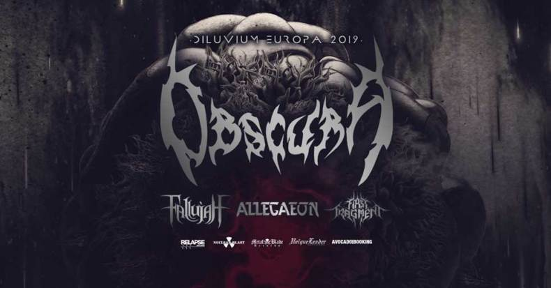 Obscura Tour - GIG REVIEW: Obscura, Fallujah, Allegaeon & First Fragment Live at Le Trabendo, Paris